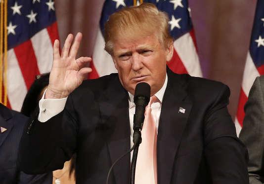 Donald Trump, le 16mars sur CNN.