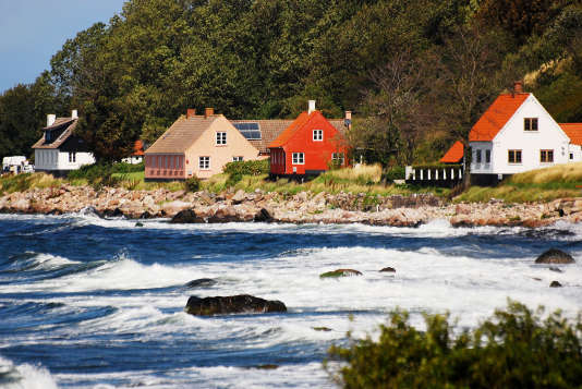 Bornholm, Danemark.
