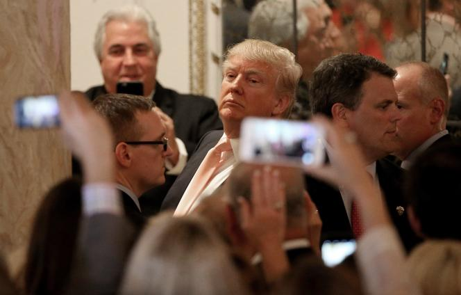 Donald Trump à Palm Beach, le 15 mars.
