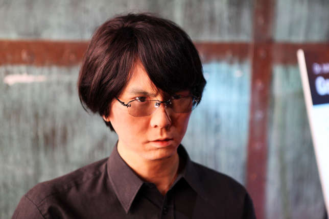 Le robot du Japonais Hiroshi Ishiguro est capable de parler, mais pas de se déplacer.