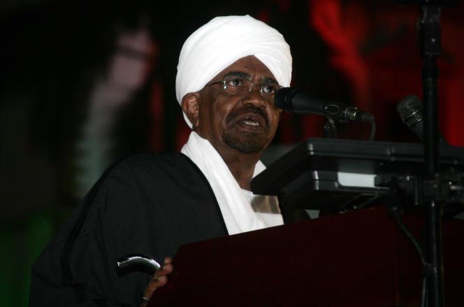 Le président soudanais Omar Al-Bachir à Khartoum le 31 décembre.