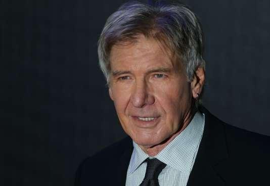 Harrison Ford à Londres, le 16 décembre 2015.