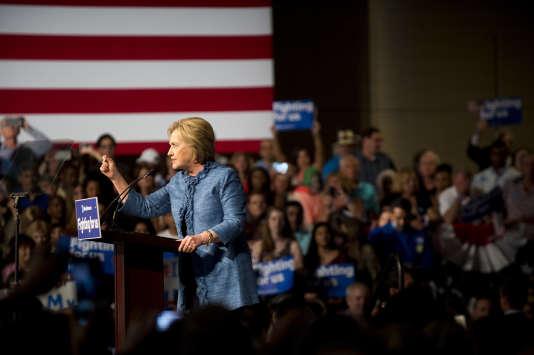 Hillary Clinton, à West Palm (Floride), le 15 mars.