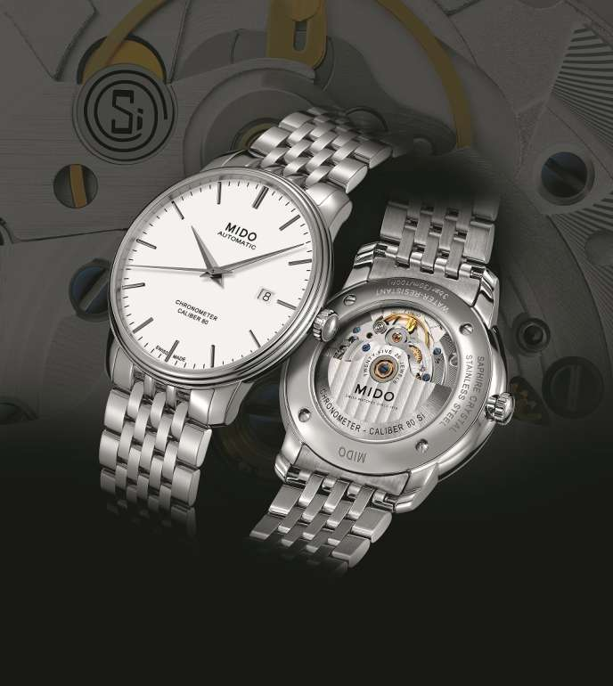 Mido Chronometer Caliber 80 et Chronometer Caliber 80 Si.