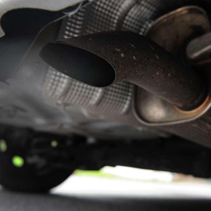 Rejet d'une motorisation diesel.