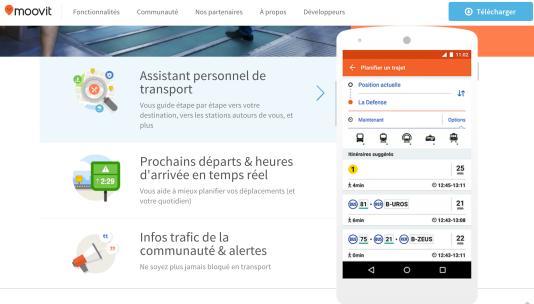 Grâce à la participation de 35000volontaires, l'application Moovit est une aide pour mieux utiliser les transports publics.