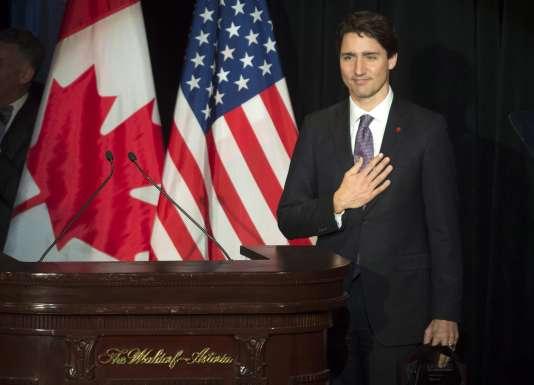 Le premier ministre canadien, Justin Trudeau, le 16 mars 2016, à New York.