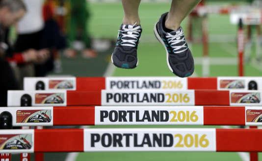 Le 60 m haies sera l'une des épreuves à suivre pour la délégation française à Portland.