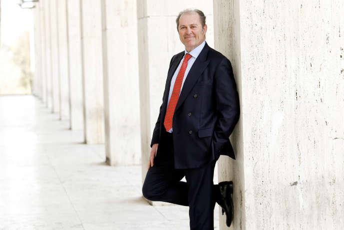 Le PDG de l'assureur Generali, Philippe Donnet, à Rome, le 8 mars.