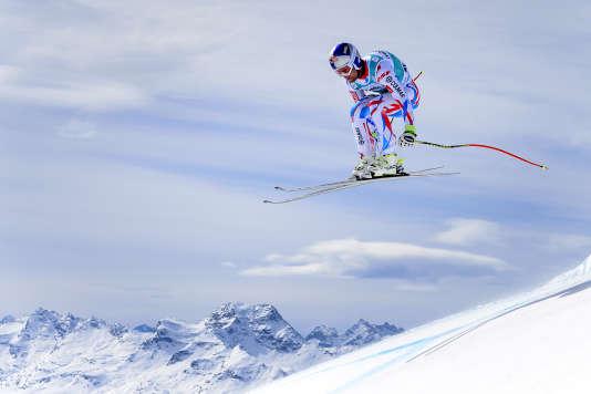 Alexis Pinturault à Saint-Moritz le 15 mars.
