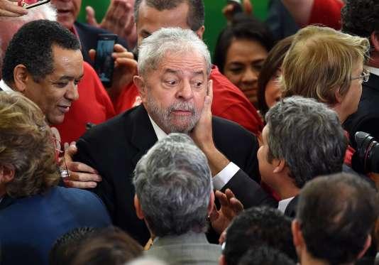 Luiz Inacio Lula da Silva, le 17 mars.