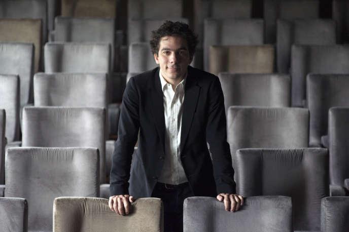 Nathanaël Karmitz, président du groupe MK2, au Grand Palais à Paris, en novembre 2012.