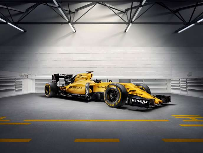 La RS 16 de Renault.