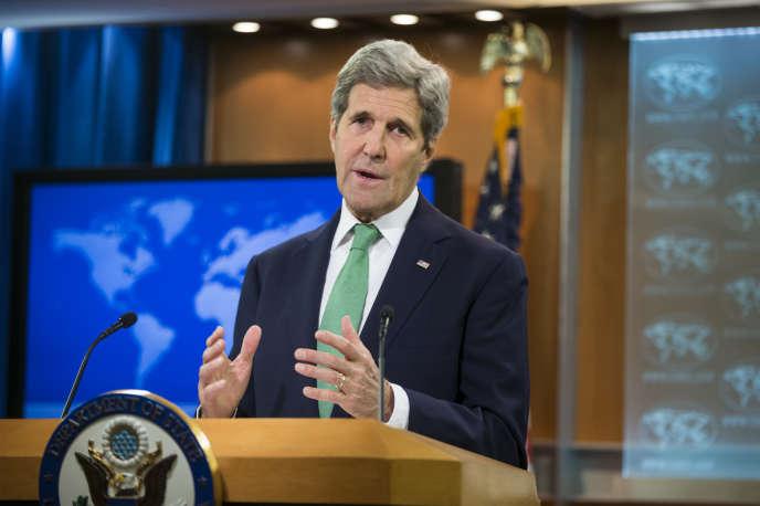 «Il est important de mettre un nom sur ces crimes, mais l'essentiel, c'est de les faire cesser», a déclaré John Kerry, le secrétaire d'Etat des Etats-Unis.