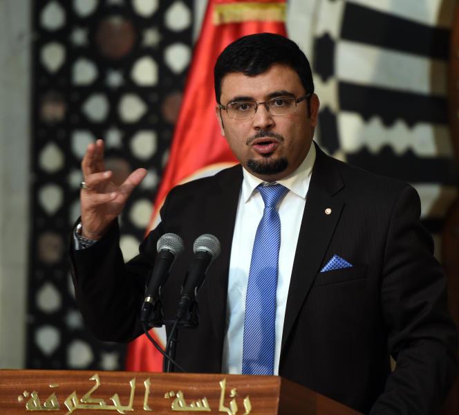 Le porte-parole du gouvernement tunisien, Khaled Chouket.