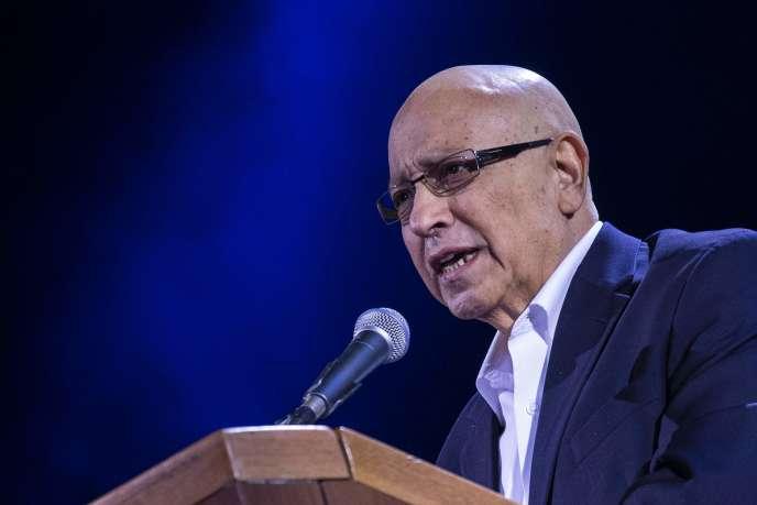 Meir Dagan, lors sa dernière apparition publique, en mars2015.