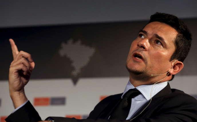 Le juge brésilien Sergio Moro, en octobre 2015.