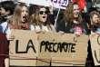 Manifestation contre la loi travail à Paris, jeudi 17 mars.