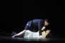 """Ryan Silverman (Giorgio Bachetti) et Natalie Dessay (Fosca) dans """"Passion"""", mise en scène par Fanny Ardant."""