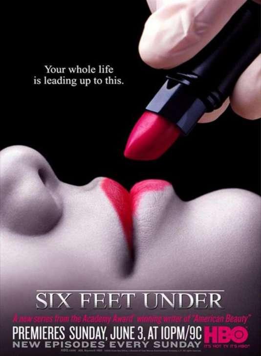 Une des affiches de la première saison de «Six Feet Under».