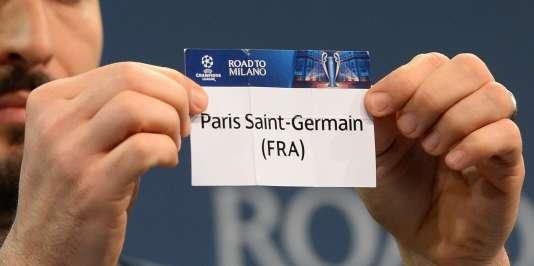 Le tirage au sort des quarts de finale de la Ligue des champions, le 18 mars.