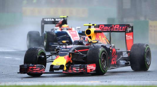 Le pilote Red Bull Daniil Kvyat, vendredi 18 mars à Melbourne (Australie).