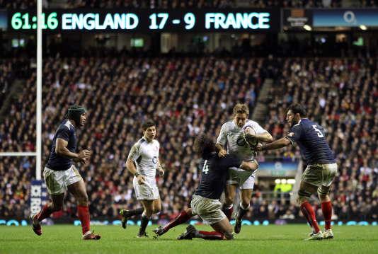 Angleterre-France,  à Twickenham, en février 2011.