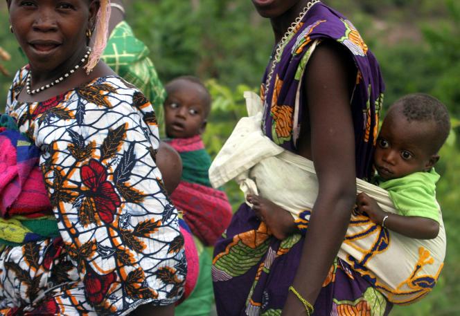 A Conakry, en Guinée.