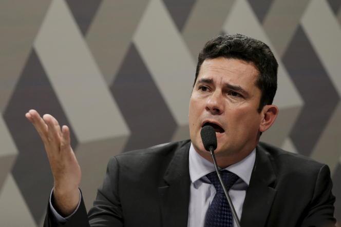 Sergio Moro, juge fédéral, a révélé le scandale Petrobras.