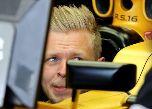 Le pilote Renault Kevin Magnussen, lors de la première session des essais du Grand Prix d'Australie, vendredi 18 mars.