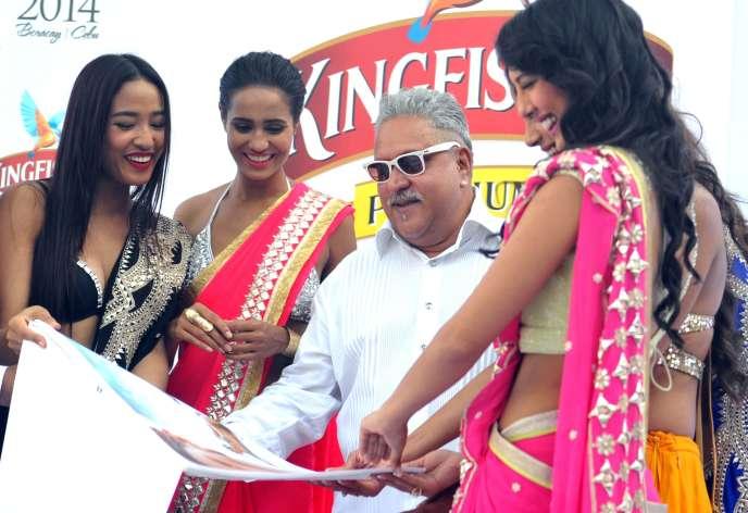 Vijay Mallya, le 21décembre 2013, àBombay.