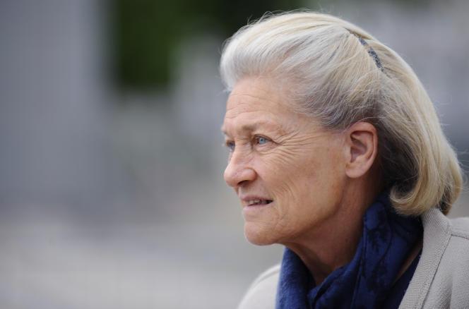 Elisabeth Badinter, le 1er juin 2015.