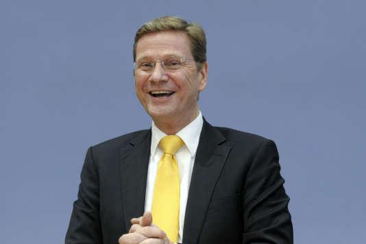 Guido Westerwelle, en octobre 2009.
