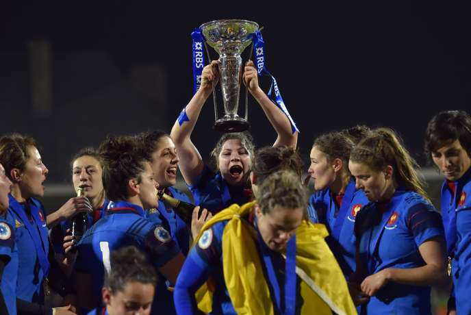 L'équipe de France féminine de rugby a remporté le tournoi des six nations, vendredi 18 mars.
