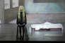 """Isabelle Huppert dans """"Phèdre(s)"""", de Wajdi Mouawad, Sarah Kane et J. M. Coetzee dans une mise en scène de Krzysztof Warlikowski à l'Odéon-Théâtre de l'Europe à Paris."""