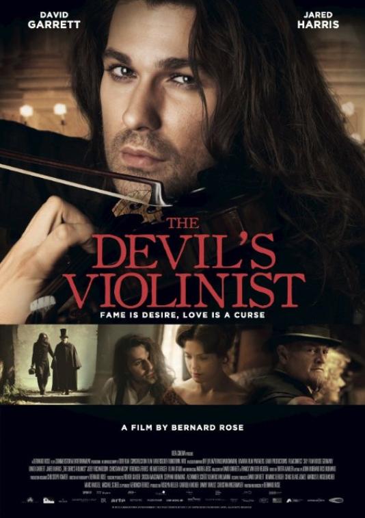 Une des affiches du film « Paganini, le violoniste du diable».