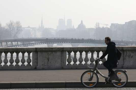 Un épisode de pollution en mars 2016.