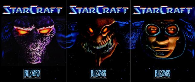 Les différentes races dans «StarCraft».