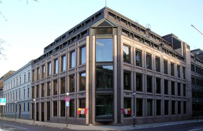 Le siège de la banque centrale de Norvège, à Oslo.
