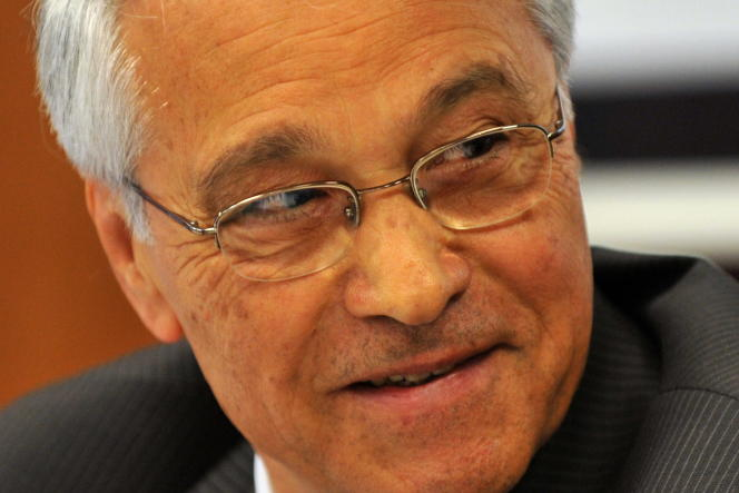 L'ancien ministre de l'énergie Chakib Khelil est rentré en Algérie, jeudi 17 mars.