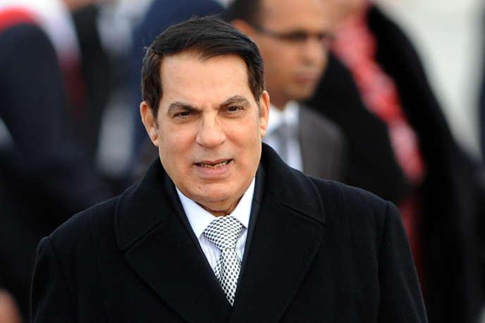 L'ancien président tunisien Ben Ali en décembre 2010.