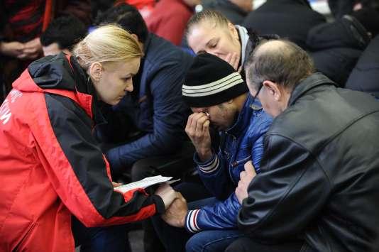 L'accident de Rostov-sur-le-Don a causé la mort de 55 passagers et 7 membres d'équipage samedi 19 mars.