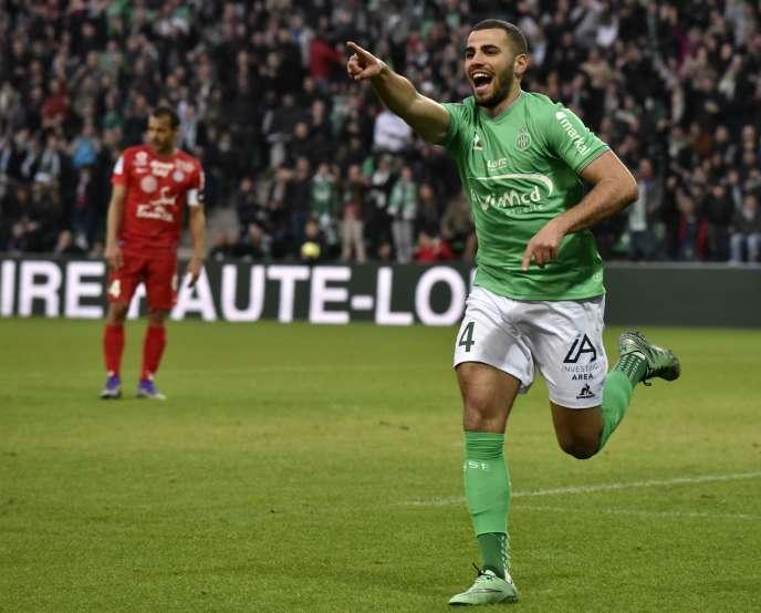 Saint-Etienne a battu (3-0) Montpellier, samedi 19 mars, lors de la 31ème journée de Ligue 1.