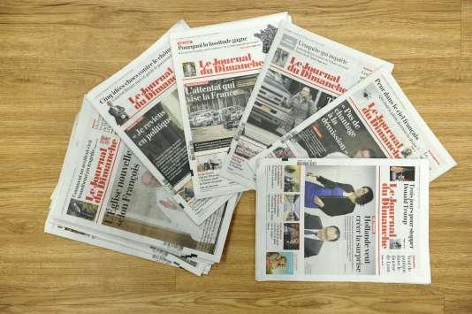 """""""Le Journal du dimanche"""" n'est pas paru pour la première fois de son histoire, dimanche 20 mars 2016."""