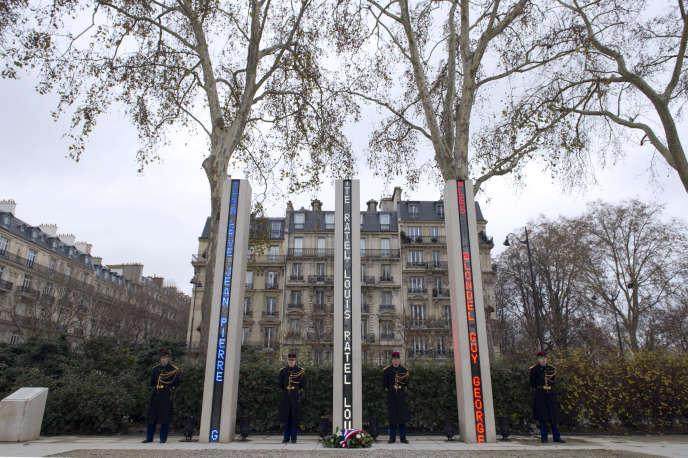 Le Mémorial du Quai Branly le 5 décembre 2012 à Paris.