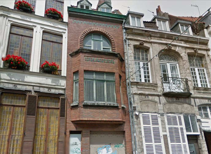 Le 9 rue Saint-Jacques, à Lille, où le corps d'Alberto Rodriguez a été retrouvé en 2012, quinze ans après sa mort.