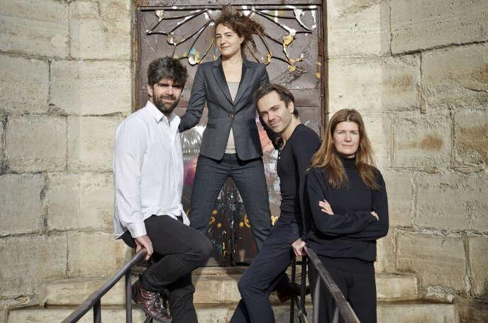 Le quartette Airelle Besson.