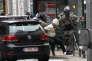 Arrestation de Salah Abdeslam à Molenbeek, dans la banlieue de Bruxelles, le 18 mars 2016.