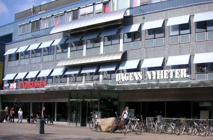 Le siège du Dagens Nyheter à Stockholm, en 2007.