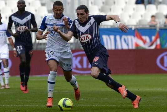 Match entre Bordeaux et Bastia, le 20 mars, au stade Matmut Atlantique.